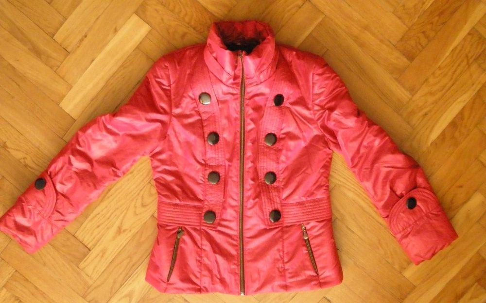 Куртка демісезонна жіноча червоного кольору Трускавец - изображение 1