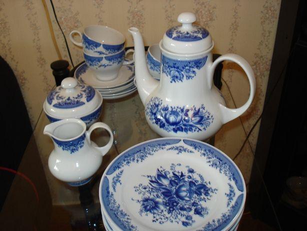Чайно-кофейный сервиз Kahla, фарфор, производство Германия .