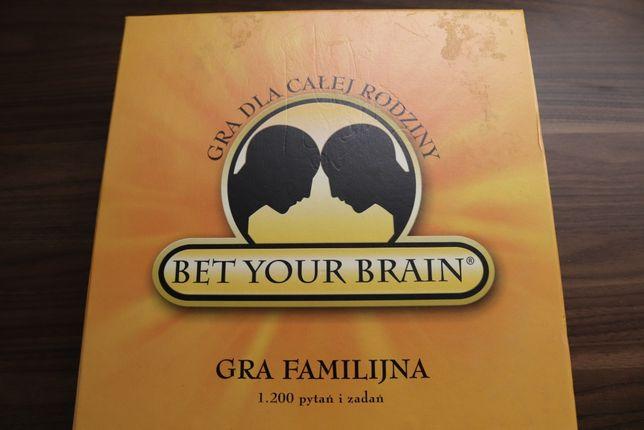Bet Your Brain rodzinna Gra Planszowa