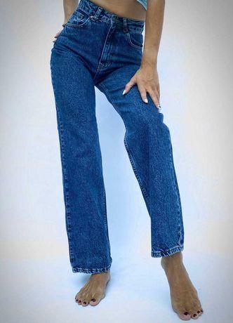 Женские стильные джинсы палаццо IT'S BASIC в голубом цвете