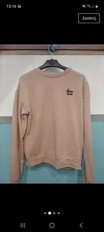 Pudrowo różowa bluza
