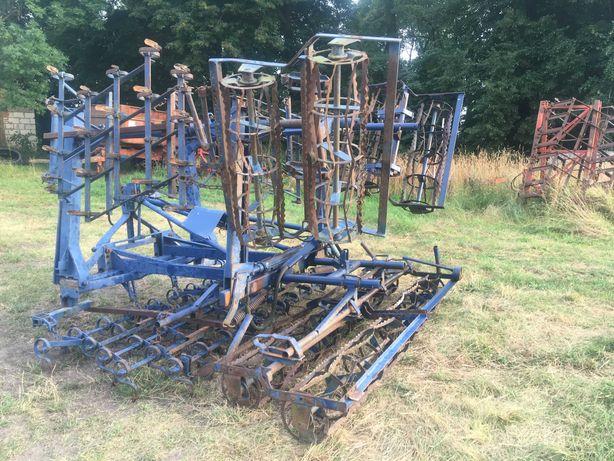 Agregat uprawowy składany hydraulicznie hydrauliczny 4 m