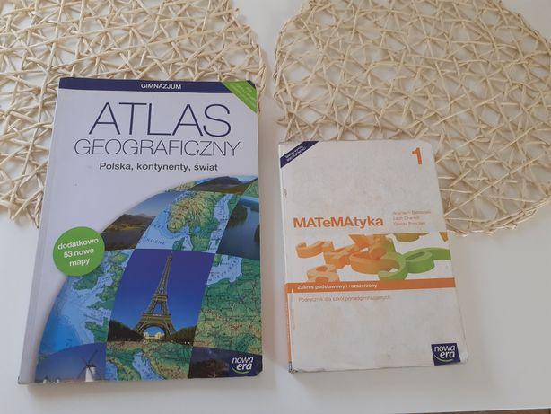 Podręcznik do matematyki 1 + gratis atlas