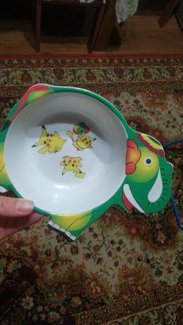 Посуд дитячий миска