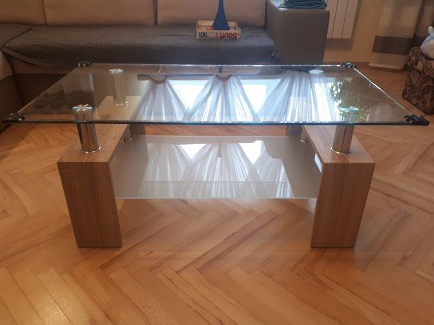 Ława stolik szklany