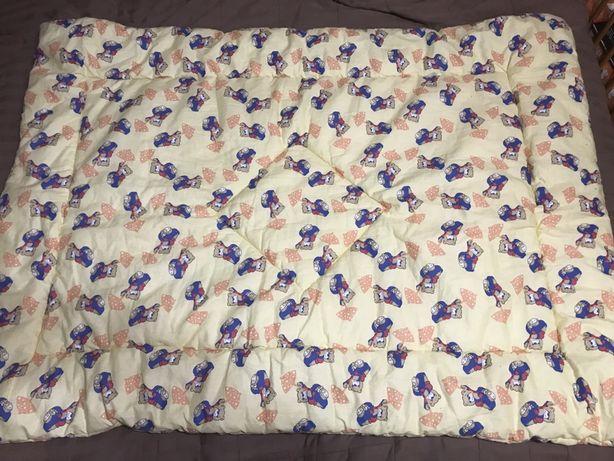 Детское синтепоновое одеяло / дитяча ковдра