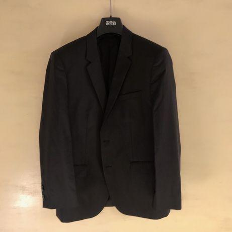 Пиджак (блейзер) Hugo Boss серо-черной расцветки