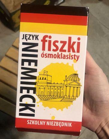 Fiszki ódmoklasisty j.niemiecki Nowe !!