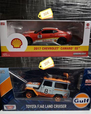 Escala 1:24 - Toyota FJ40, Chevrolet Camaro, Renault 5, Pontiac Gto...
