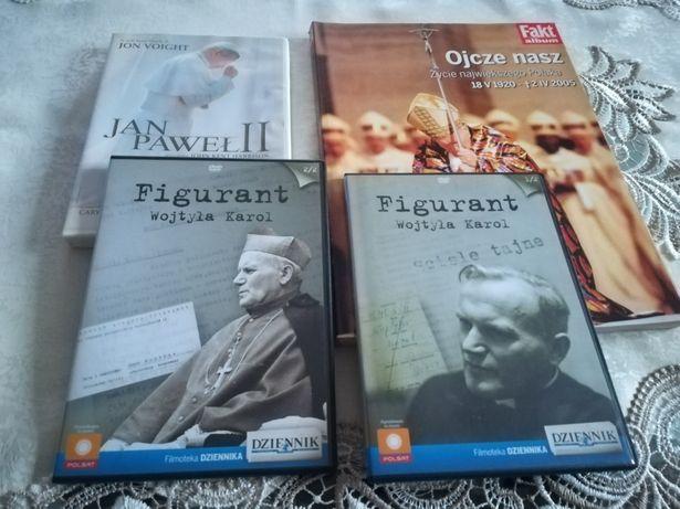 Jan Paweł II ksiazka+3plyty dvd