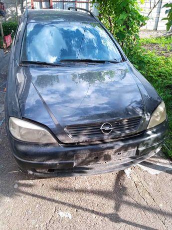 Разборка Opel Astra g 1999р., черного цвета, двигатель X16XEL.