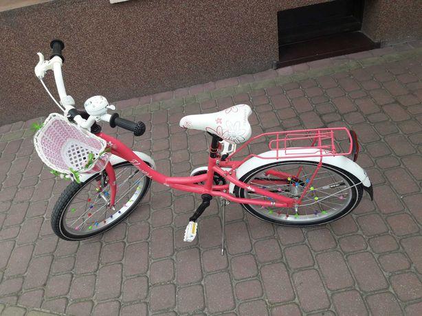 Rower dziecięcy  Flowers 20 dla dziewczynki