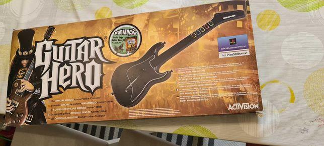 Guitar Hero para PS2 Novo e selado (RARO)