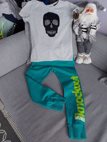Komplet spodnie dresowe + koszulka