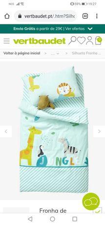 Conjunto de lençóis cama convertível TRAMA