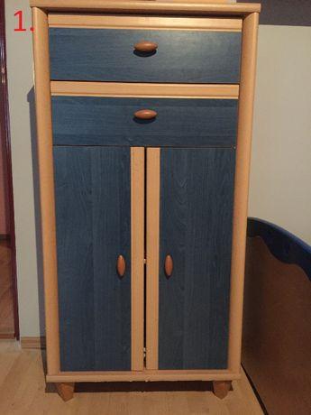 Zestaw mebli do pokoju -komplet-10 elementó/łóżko/szafa/szafka/biurko