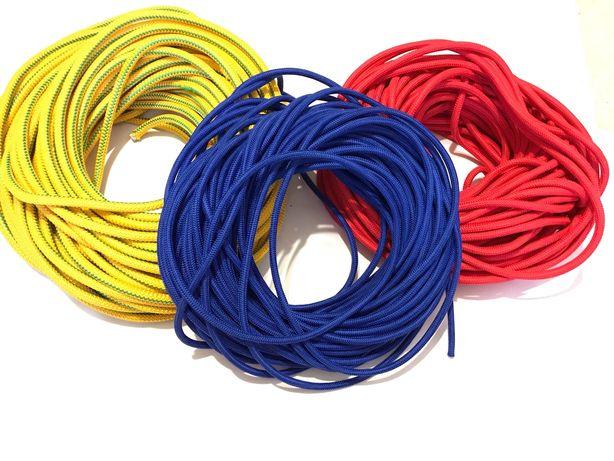 Борцовская резина жгут в тканевой оплетке в разных цветах 6.8.10.12 мм