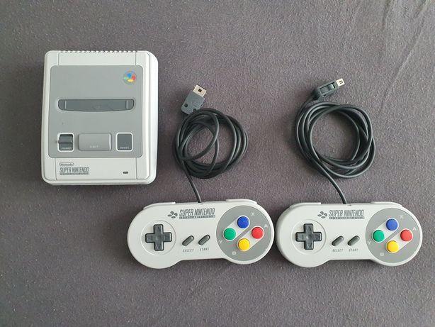 Konsola Nintendo SNES Mini + 2 Pady JAK NOWA