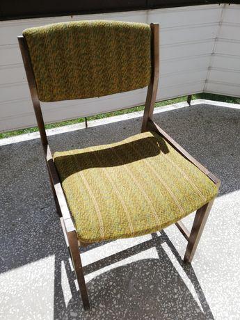 Krzesło drewniane retro vintage prl