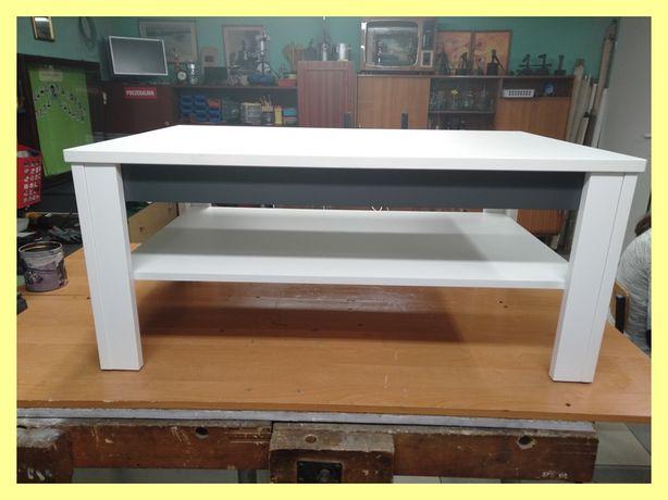 Ława prostokątna - biała
