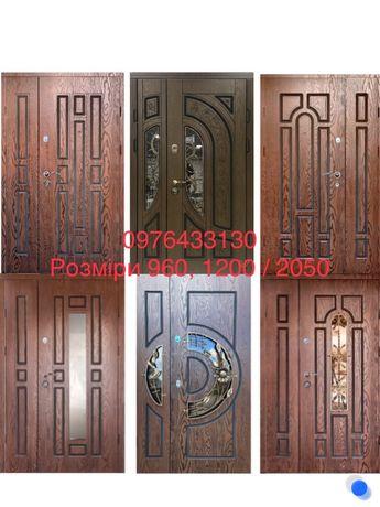Двери входные полимерные