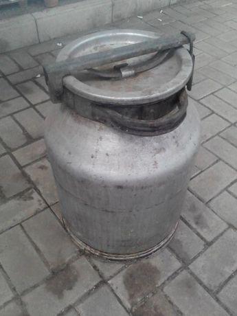Бидон алюминевый молочный 40 литровый