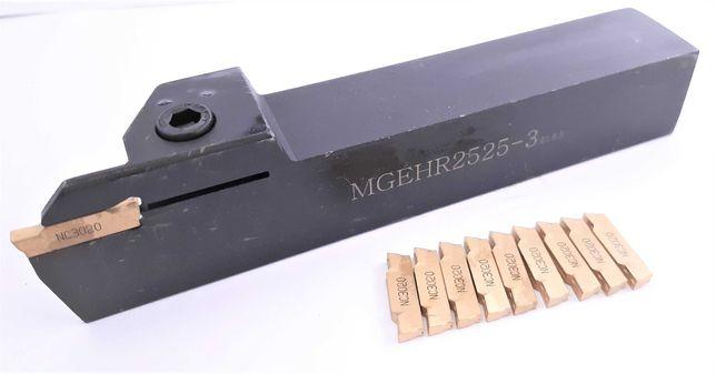 Nóż przecinak MGEHR 2525 K300 + 10 PŁYTEK MGMN 300