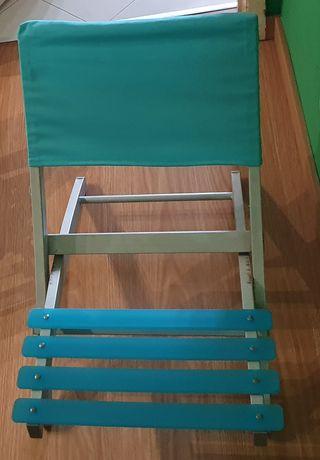Cadeira de praia muito resistente como nova