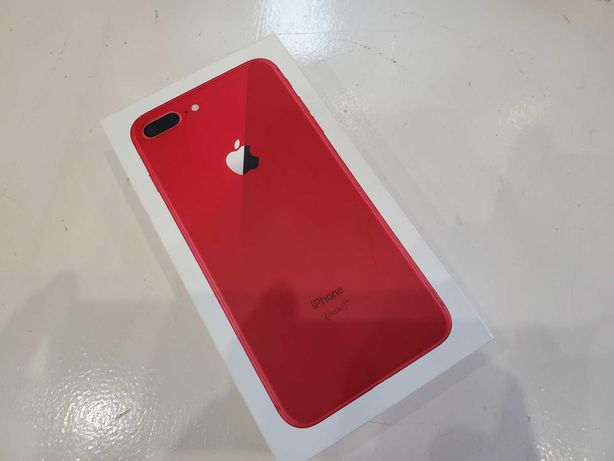 "Iphone 8 plus 64gb ""RED""  Komplet /zamiana na inny telefon"