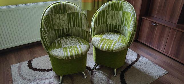 Sprzedam pufy  fotele foteliki dwie sztuki