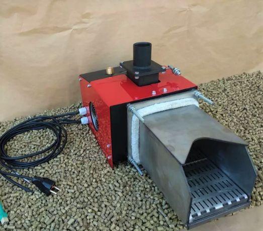 Пеллетная горелка 50 кВт с автоматическими движущимися колосниками