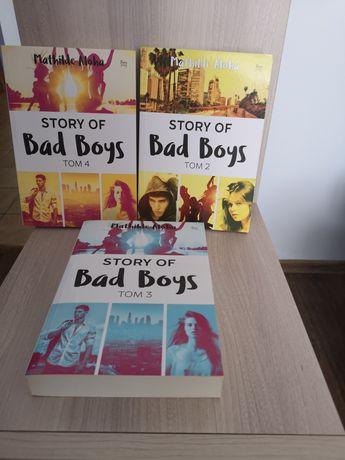 3 tomy Bad Boys Mathilde Aloha nowe