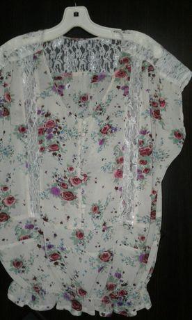 Блузка цветная  Р52