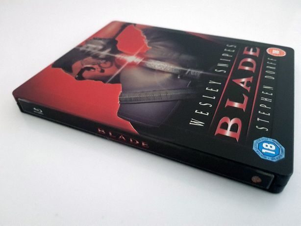 BLADE - WIECZNY ŁOWCA [1xblu ray] Wesley Snipes, steelbook, wyd. UK