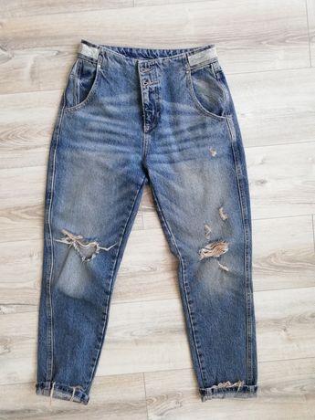 Джинсы МОМ, штаны Zara 36 розмір