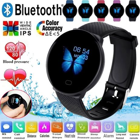 Фитнес браслет, фитнес трекер Smart Bracelet Lefun D19 смарт часы