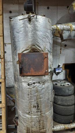 Котел на дрова, брикет. 2-3 доби на одному завантаженні.  25 квт