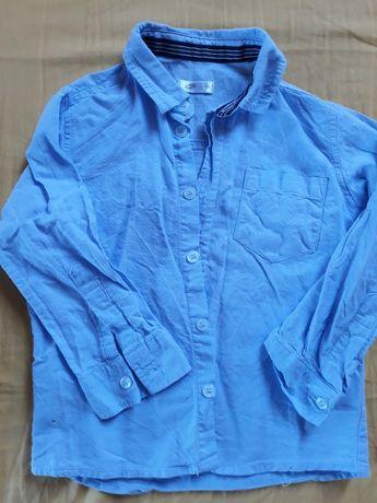 Elegancka koszula niebieska