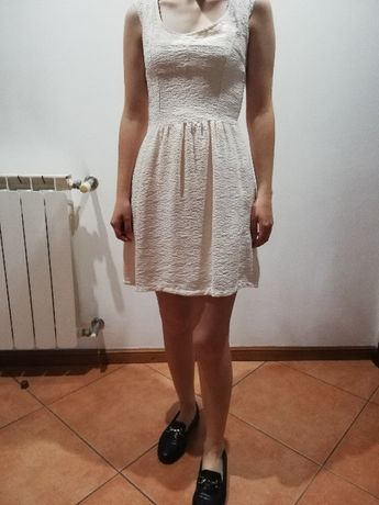 Vestido branco Bershka S NOVO