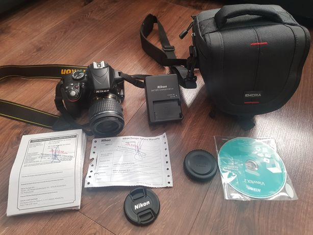 Lustrzanka Nikon D3300 AF-P18-55 Kit