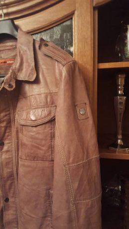 Еmilio Armani кожаная куртка geox