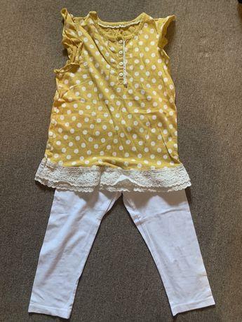 Летняя одежда на девочку 120-130см