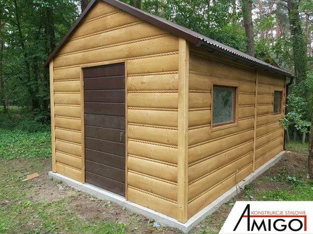 Garaż Drewniany - Domek Drewniany - Amigo Garaże Drewniane