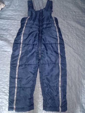 Spodnie na sanki r. 98