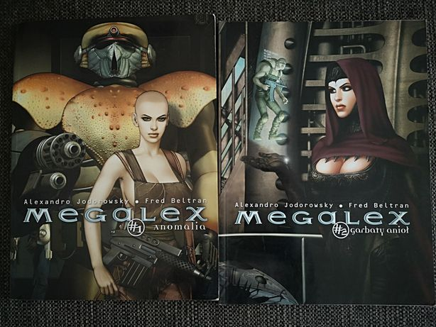 MEGALEX 1- 2 komiksy
