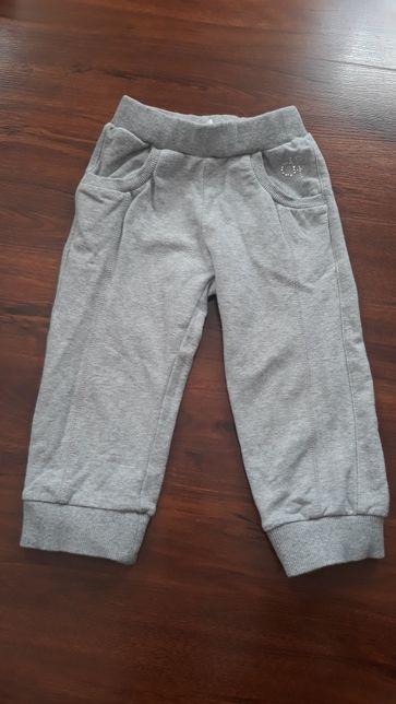 Теплые спортивные штаны на 2 года для девочки