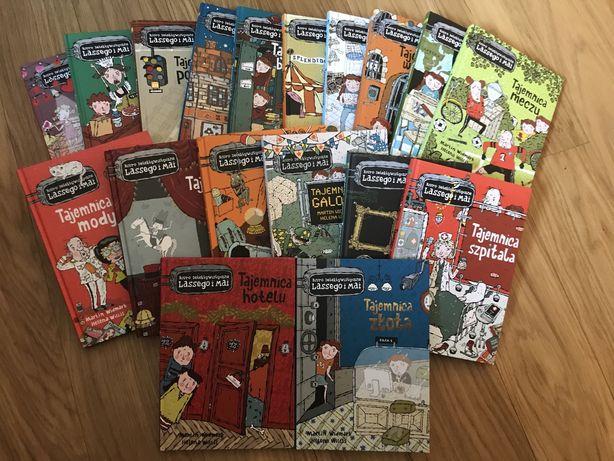 Biuro detektywistyczne Lassego i Mai - zestaw 18 książek
