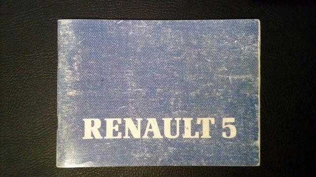 Manual Renault 5