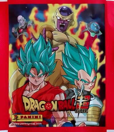 Saqueta (Carteirinha) cromos selada Dragon Ball Super (2018) da Panini