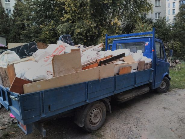 Вивіз будівельного сміття-бою.Вантажні перевезення